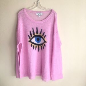 Wildfox I see you knit jumper XL